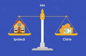 Chirie vs credit imobiliar. Ce este mai convenabil în 2020?